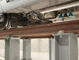 Undercarriage of Dubai tram. Photo: METRO Magazine/J.Starcic