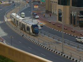 Dubai tram. Photo: METRO Magazine/J.Starcic