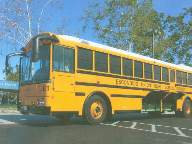 California district pilots electric drive system on bus