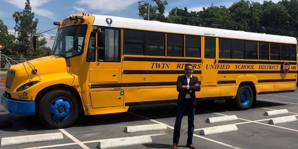 Twin Rivers Unified School District in California is working with Electriphi on charging...