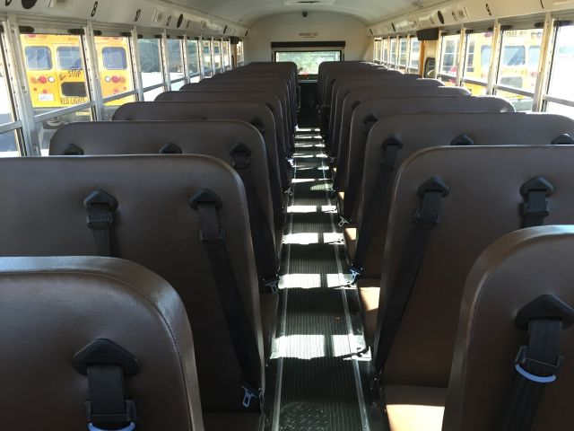 National Safety Council Backs 3-Point Belts for School Buses
