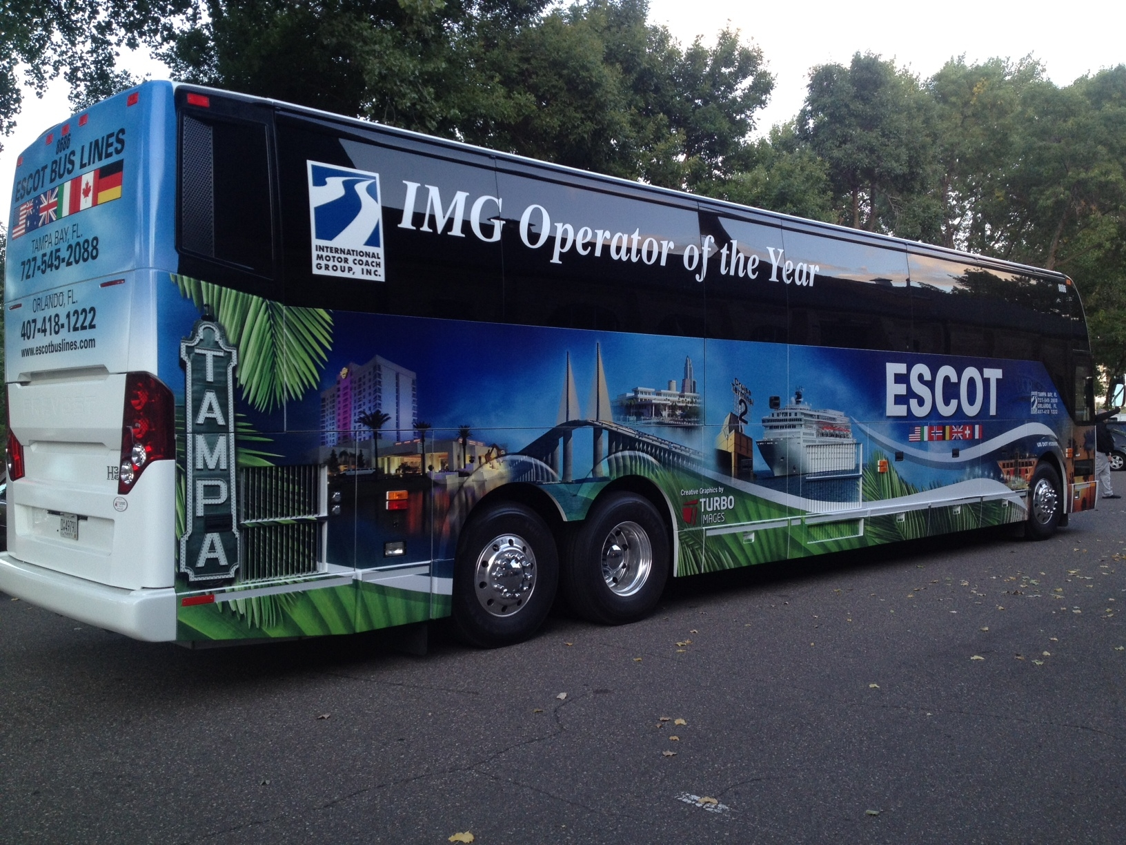 Orlando Bus Company Named Motorcoach Operator Of The Year