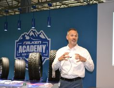 Darren Thomas, senior vice president of sales and marketing for Falken, says the company's...