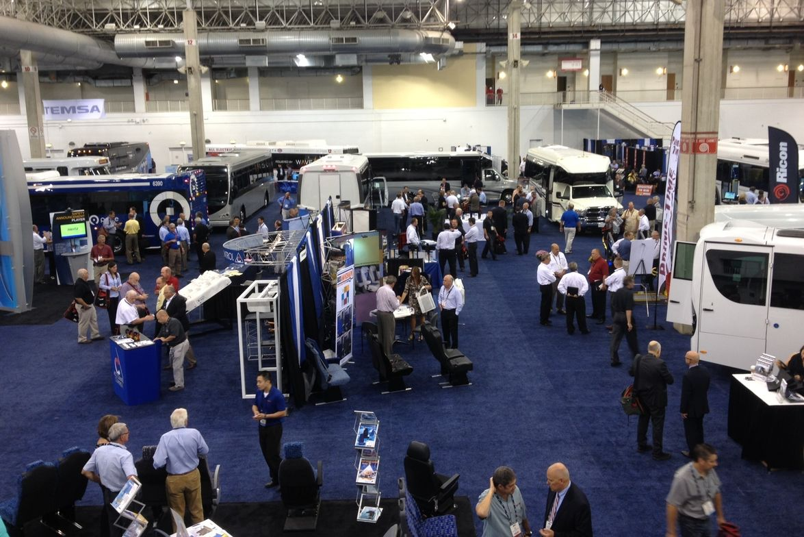 A look at the show floor.