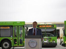 [Photos] GTrans deploys zero-emission electric buses into service