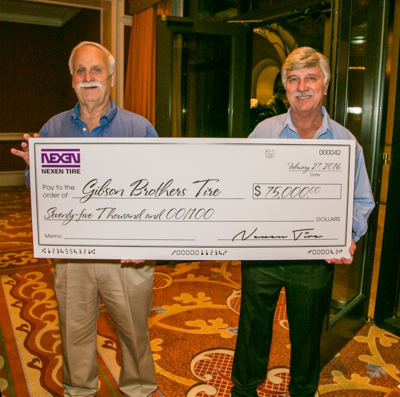 Gibson Bros. Win $75,000 in Next Level Sweepstakes