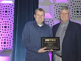 Michael and Tom Giddens won Metro's 2017 Motorcoach Operator of the Year award.