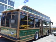 Gillig delivered their first electric bus to the nearby Central Contra Costa Transit Authority.
