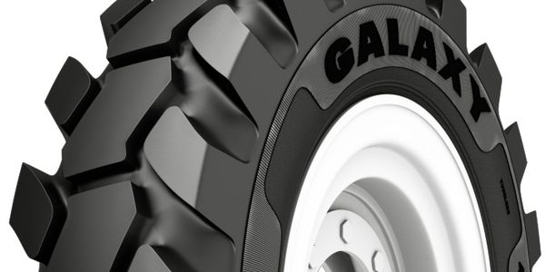 Alliance Tire Group says the massive center tread blocks of the new Giraffe ND telehandler tire...