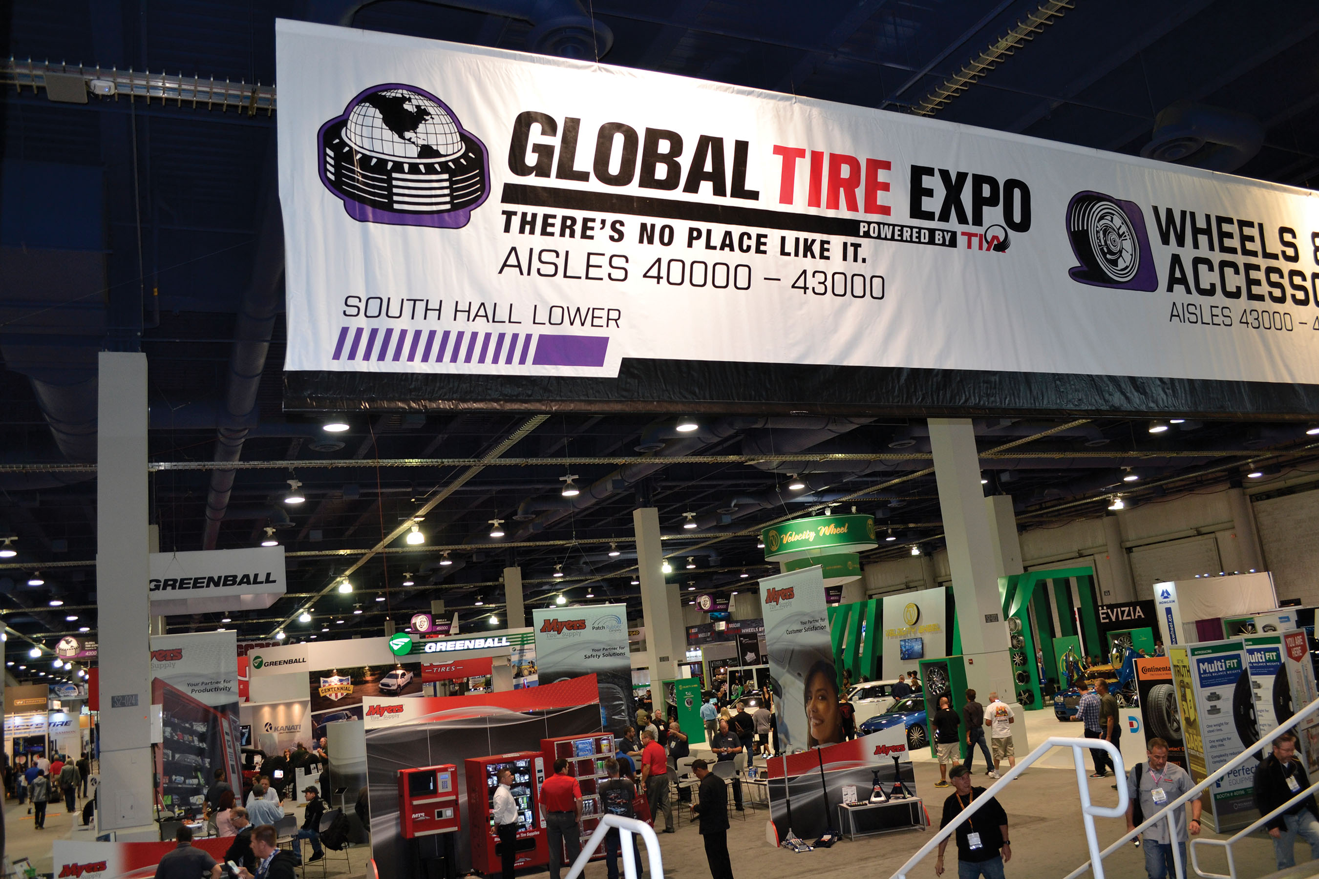 Global Tire Expo and SEMA Show: TIA and SEMA Up the Ante with Focus on New Technology