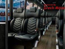 GM36 As this configuration shows, 36 employees or customers can be transported in comfort aboard...