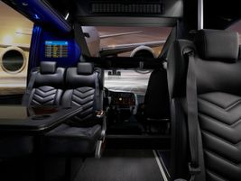 GM45 As this photo shows, the GM45 provides passengers a comfortable experience with numerous...