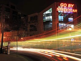 Go By Streetcar sign - Pearl District of downtown Portland, Ore. - Ian Sane - 2011 - Flickr