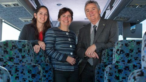 The family business includes President Fernando Pereira; VP Claudia Menezes; and their daughter...