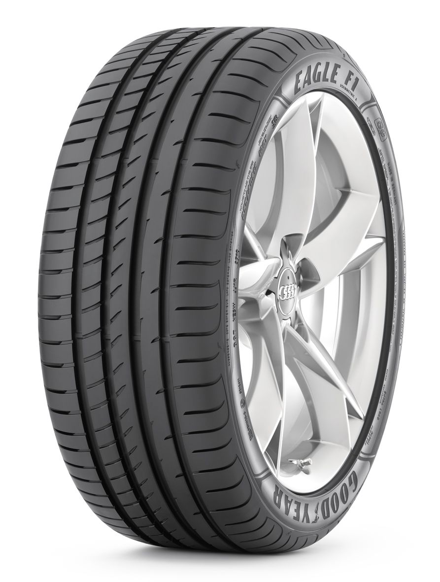 2015 Mustang rolls on Goodyear traction