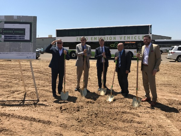 GreenPower breaks ground on Calif. facility