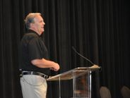 Greg Smith, MTD publisher, discussed current market conditions with ITDG members during their...