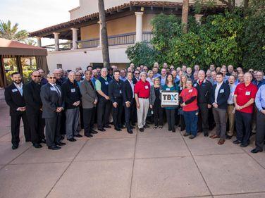 The Innagural TBX attendees.