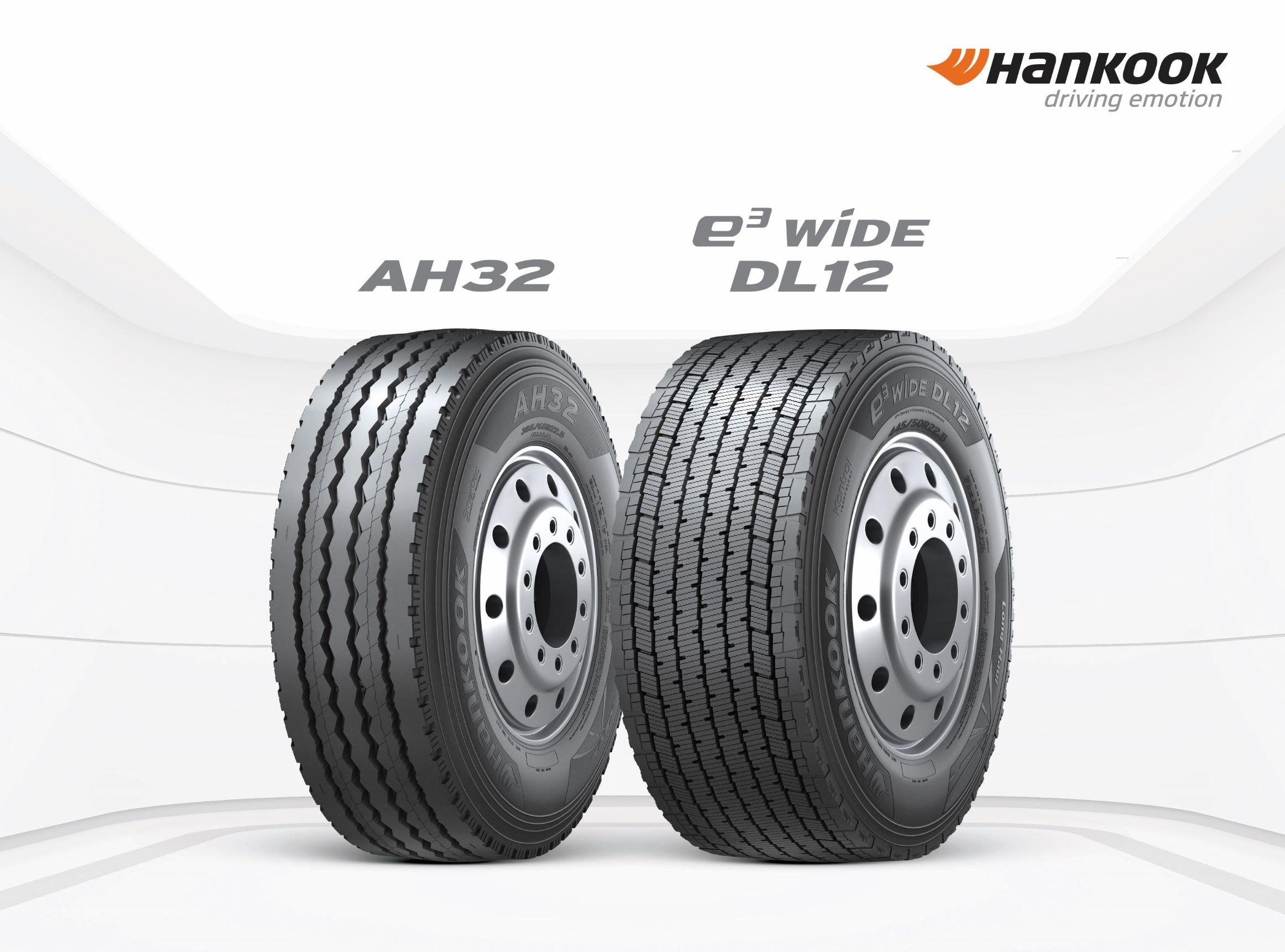 Hankook Has 2 New Wide-Base Tires