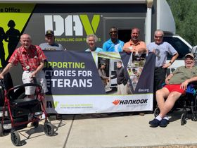 Hankook, Dealers Host Events for Disabled Veterans