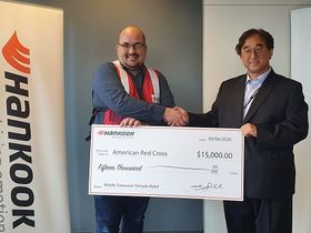 Hankook Donates $15,000 for Tennessee Tornado Victims