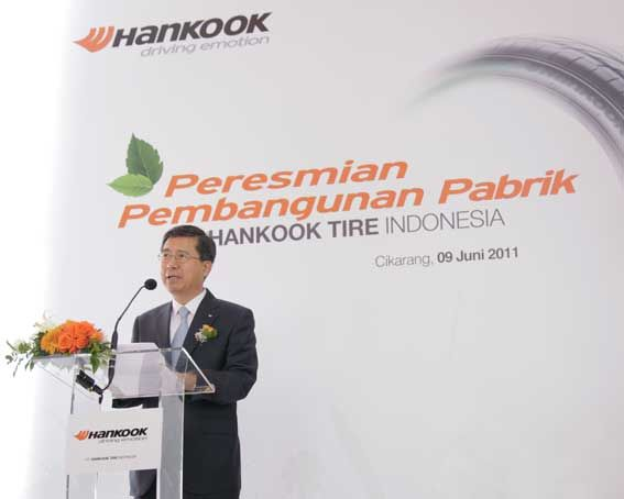 Hankook plans 100 million tires annually by 2014