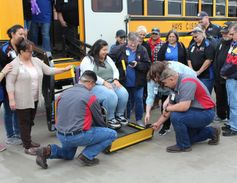 More than 20of Hays Consolidated Independent School District's transportation staff recently...
