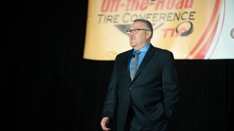 Shawn Rasey, director of global business development, earthmover, Continental Tire the Americas...