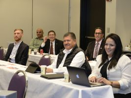 All of the ABA's groups met during Marketplace, including the Hispanic Motorcoach Council. KRR...