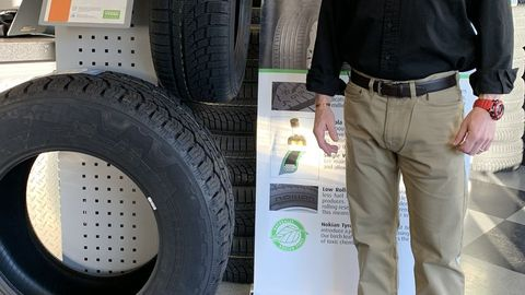 Howie Fetzer says sales of winter tires at his Fairfield, Conn., store have been soft this year...