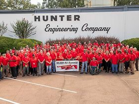 Hunter's Mississippi Plant Reaches 30,000-Lift Milestone