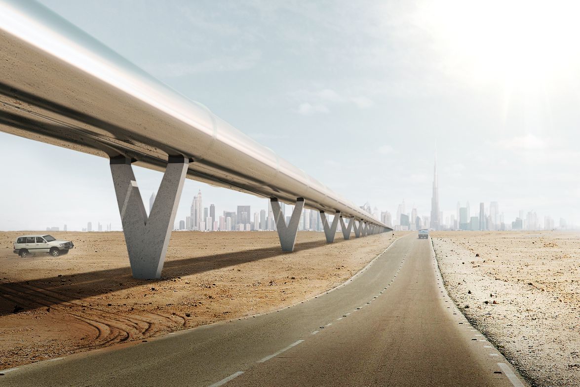 Images: Hyperloop One/BIG