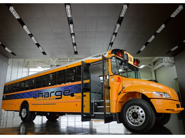 IC Bus Takes Electric School Bus on the Road
