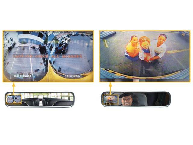 IC Bus Offers Full View Camera Technology by Rosco
