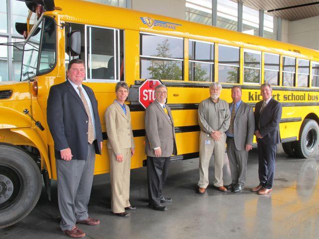 Illinois Contractor Acquires 2 IC Propane School Buses