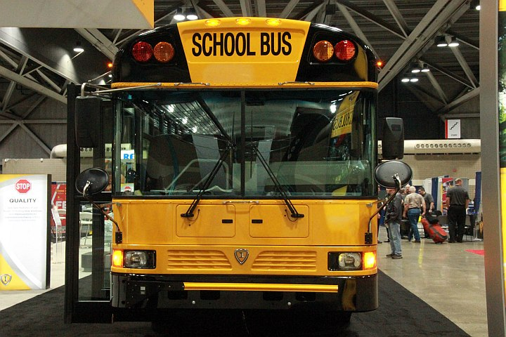 IC Bus Showcases New Features at NAPT Trade Show