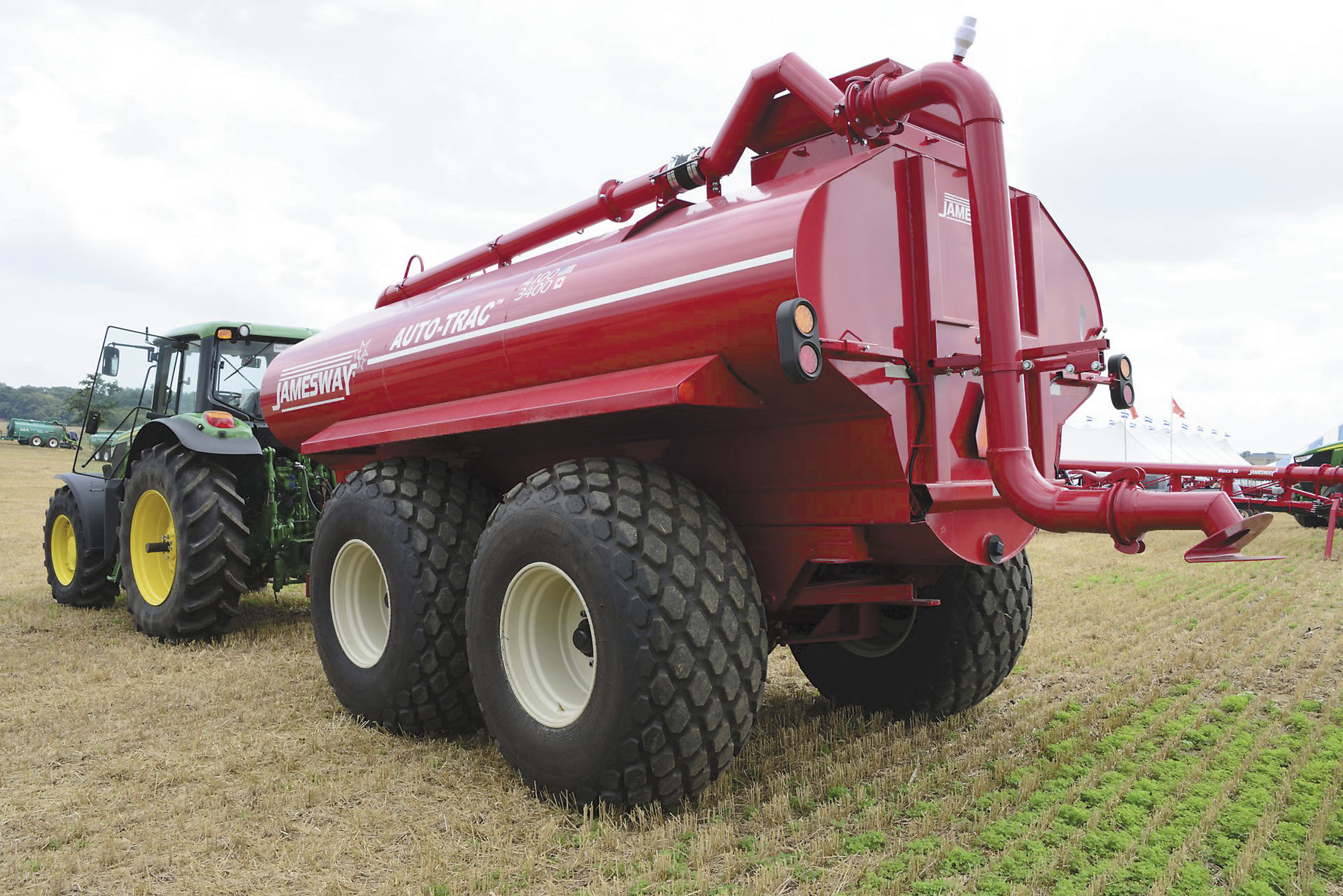 Implement Tires Take on Tougher Stubble, Bigger Equipment and Heavier Loads