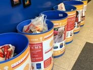 This year, the team collected a total of 55-gallon drums of food for those in need. Mike...