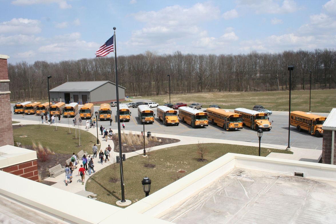Kurt Kuffner, business manager at St. Marys (Ohio) City Schools, snapped this photo while on the...