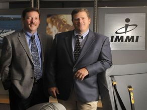 IMMI's new CEO, Larry Gray (left), will partner with company President Tom Anthony in completing such tasks as developing and implementing the company's global business strategy.