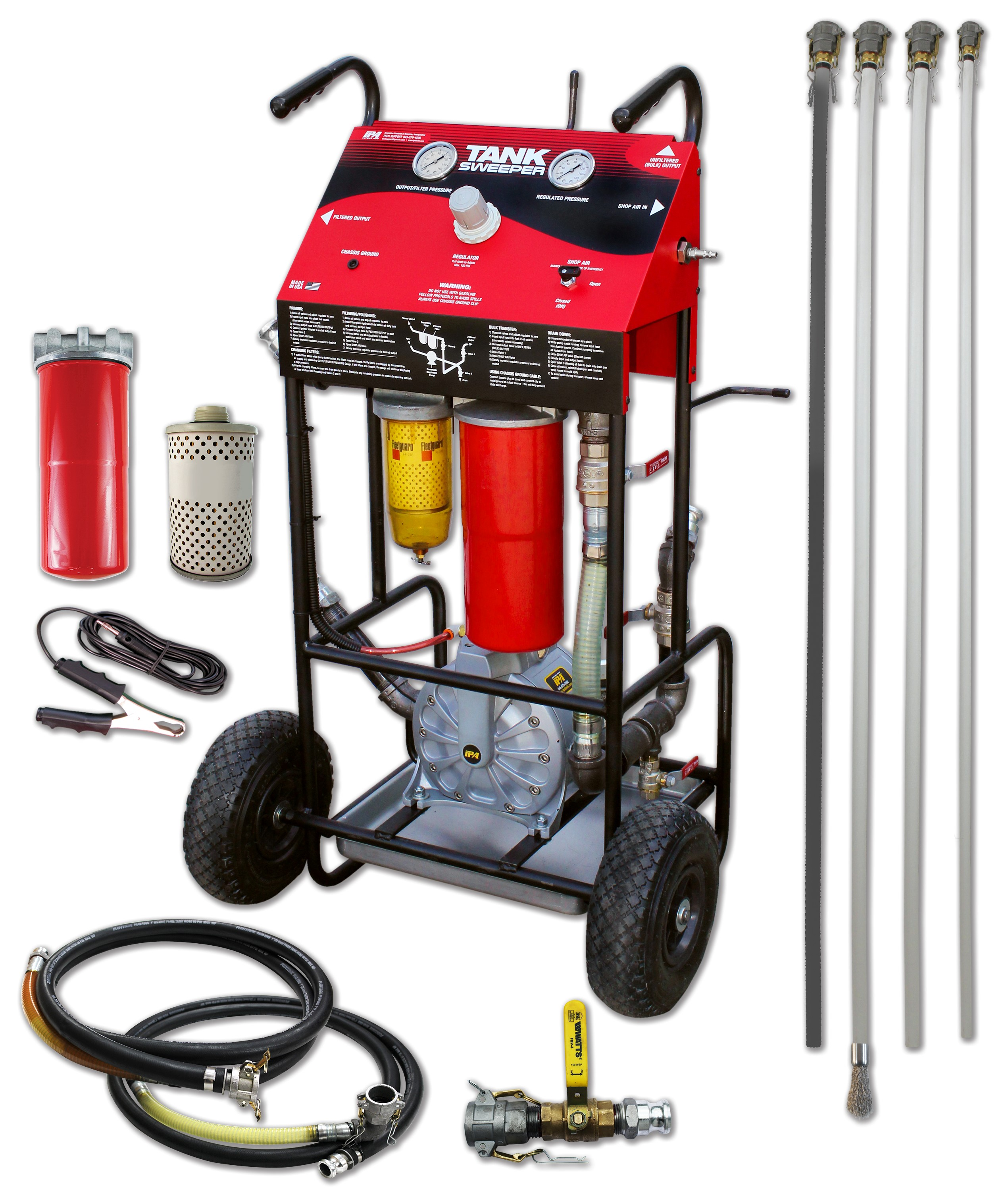 IPA Has New Portable Fuel Transfer and Filtration System