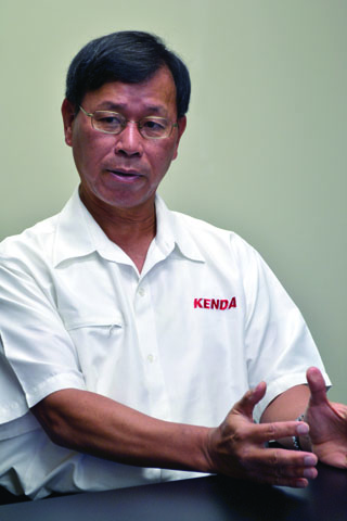 Kenda plans to manufacture truck tires within three years