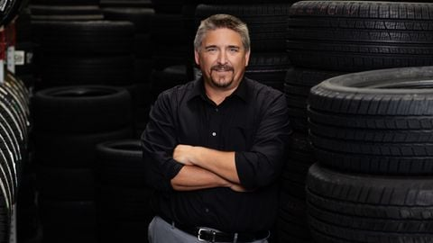 Outgoing Tire Industry Association President John Evankovich is director of Sam's Clubs' tire...