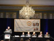John Evankovich, the new president of the Tire Industry Association, was among the speakers...