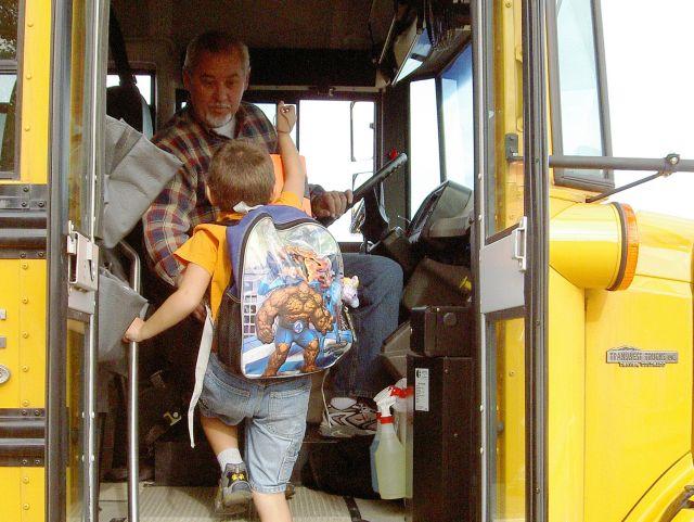 School bus driver, <I>SBF</i> contributor John Horton to retire