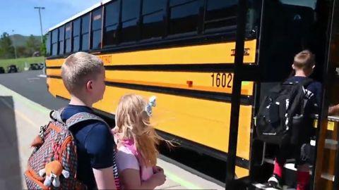 VIDEO: Utah Students Demonstrate School Bus Field Trip Safety