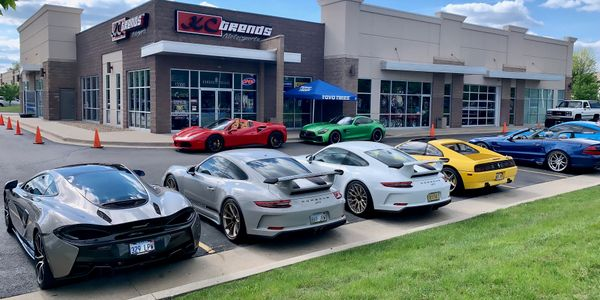 KC Trends Motorsports specializes in custom tires and wheels for high performance sports cars,...