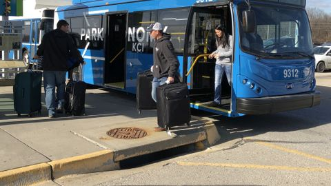 A couple of years ago, Kansas City and Indianapolis airports began using battery-electric buses...