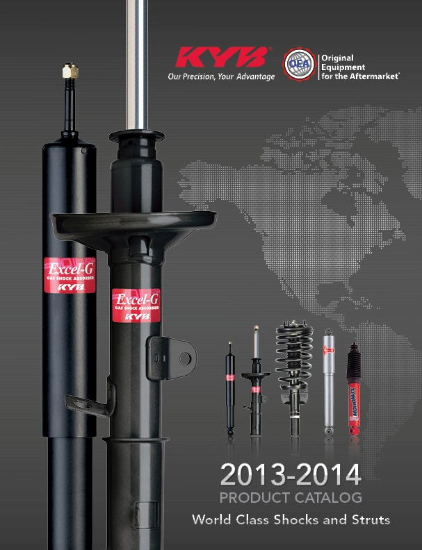 KYB releases 2013-14 catalog