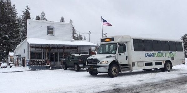 Kayak Public Transit in Pendleton, Ore., is administered by the Confederated Tribes of the...